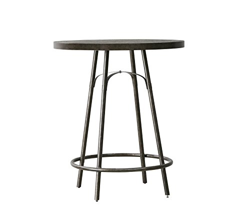 Pulaski Vintage Tempo Metal Pub Table