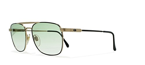 Valentino V429 917 Gold Vintage Sunglasses Aviator For - Valentino Aviators