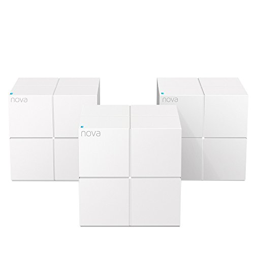 Tenda Wireless-AC Dual-Band Whole Home Wi-Fi System (3-pack) NOVA