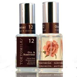Tokyo Milk's Gin and Rosewater Eau De Parfum for Woman, 1 Fluid Ounce (Home Fragrance Rosewater)