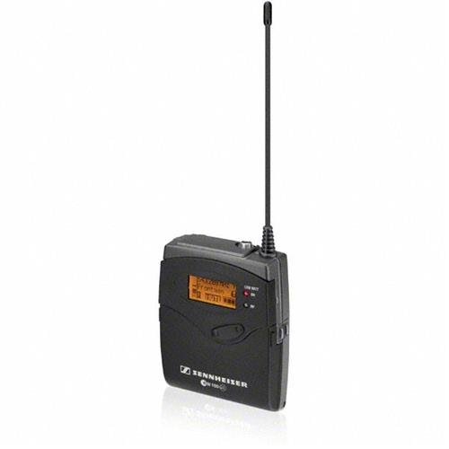 Sennheiser EK 100 G3 Portable Diversity Receiver with CA 2 Camera Adapter, Frequency Band A1: 470-516MHz by Sennheiser