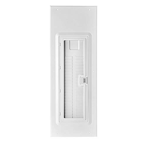 Leviton LDC42-W 42-Space Indoor Load Center Cover and Door with Observation Window, NEMA 1, Flush/Surface -