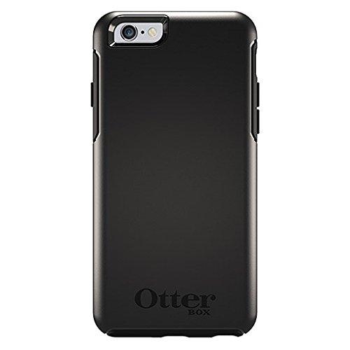 OtterBox Symmetry sturzsichere Schutzhülle für Apple iPhone 6 / 6s, Schwarz