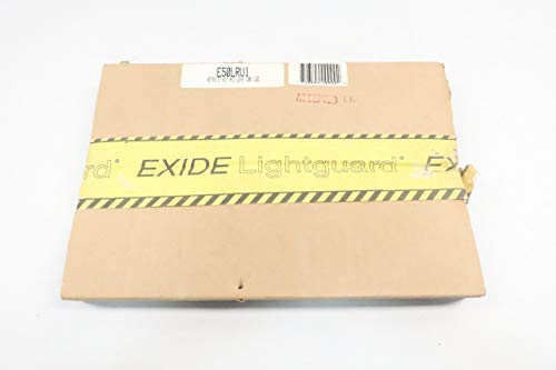 (New EXIDE E50LRU1 LIGHTGUARD RETROFIT KIT RED Lens EXIT Sign D627661)