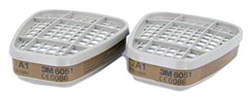 Filtres 3M 6051 A1 pour masques modè les 6000/7000 (Pk02) 3M 6051 2016