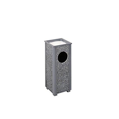(Rubbermaid Commercial Products FGR412000PL Aspen Series Ash/Trash Refuse Receptacle (2.5-Gallon, Gray))