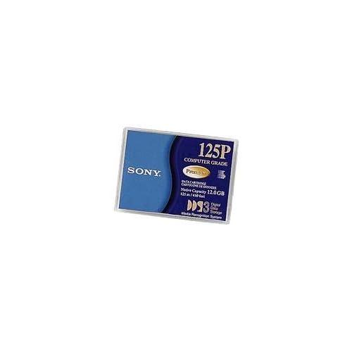 Sony 125P DDS3 DAT 4mm 125m 410 feet 12.0 GB