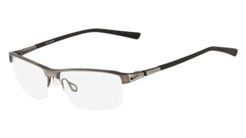 8d442c75c3 Nike Eyeglasses 6052 067 Gunmetal Black Demo 59 15 by NIKE
