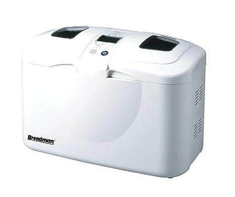 Amazon.com: breadman tr2828 Pro Doble Loaf Panificadora ...