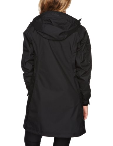 Helly Hansen W Long Belfast Jacket - Chaqueta para mujer Negro (990 Black)