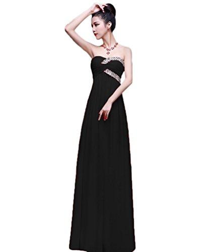 Vimans -  Vestito  - linea ad a - Donna Black 46