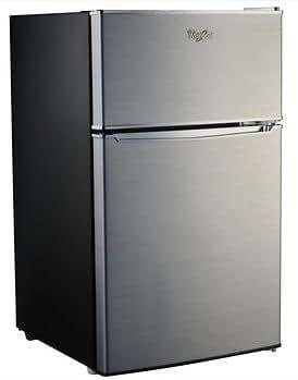 Amazon Com Whirlpool Compact Refrigerator Freezer Fridge