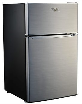 whirlpool compact refrigerator freezer fridge kitchen appliance counter depth small. Black Bedroom Furniture Sets. Home Design Ideas