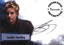 Smallville Season 6 A46 Justin Hartley Autograph Card