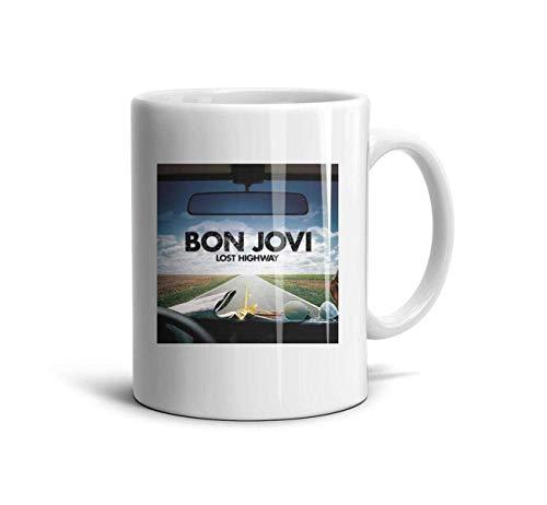 Bon-Jovi-Rock-Band-This-is-Our-House- Classic Coffee Mugs 11oz Ceramic Tea Cups,Bon Jovi Lost,One Size