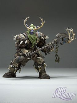 World of Warcraft Series 2 Night Elf Druid: Broll Bearmantle Action Figure (World Of Warcraft Series compare prices)