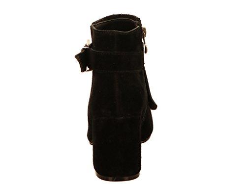 pour Alma 117115 en Pena Femme Noir Bottes A88rn6