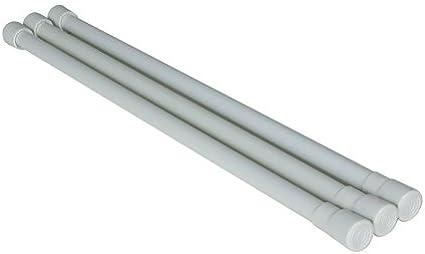 Camco 44053 Barras para Neveras Juego de 3 Color Blanco
