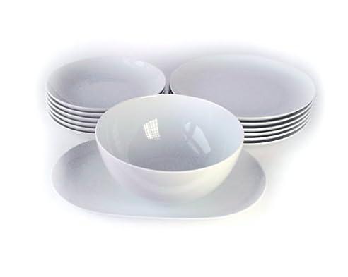 Arzberg Form Cucina Basic Speiseset 14Tlg. -Sondersortierung- Weiß