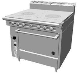 Garland US Range C836-11 Cuisine Series Heavy Duty Range by Garland/US Range