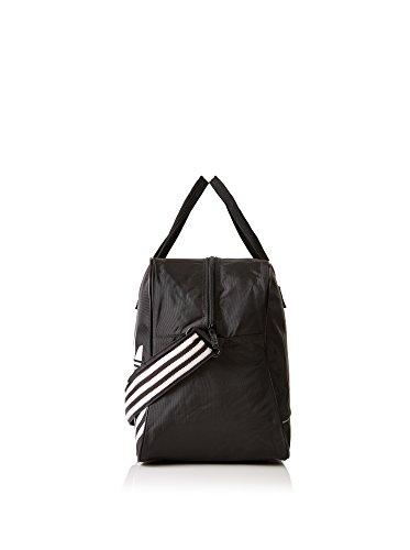 adidas Unisex-Erwachsene Boston Bear Bag Umhängetasche, Schwarz/Weiß Schwarz/Weiß