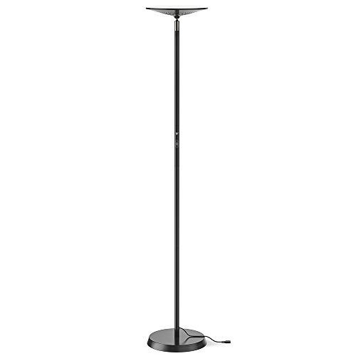 "TaoTronics Smart LED Floor Lamp, Works with Alexa, 65""/166 cm Dimmable Lamp with 3000 K Warm Light for Living Room, Bedroom, and Office by TaoTronics"