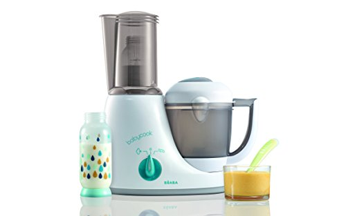BEABA Babycook Original Plus 6 in 1 Steam Cooker, Blender, and Bottle Warmer, 3.5 cups, Dishwasher Safe, Peacock by Beaba (Image #5)