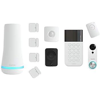 Simplisafe 10 Piece Wireless Home Security System W Hd
