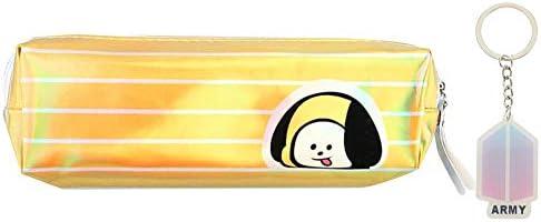 Youyouchard Kpop BTS - Estuche para lápices, lápices, bolígrafos, rotuladores (1 llavero BTS como regalo): Amazon.es: Juguetes y juegos