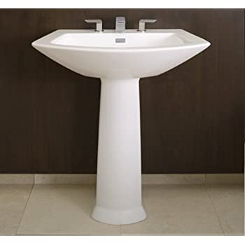 Toto Pt960 01 Soiree Pedestal Cotton White Pedestal