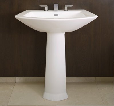 Toto LT962-03 Soiree Pedestal Single Hole Basin, Bone
