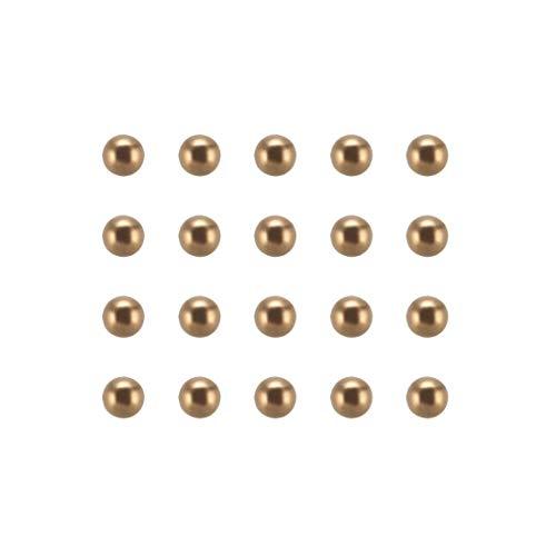 High Precision 8mm 50PCS Solid Brass Bearing Balls H62