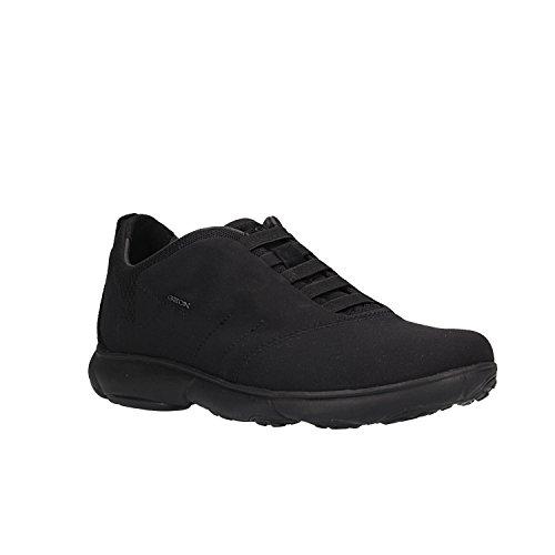 F Herren Nebula U Schwarz Slip Black Geox on C9997 Sneaker SCBqwqx