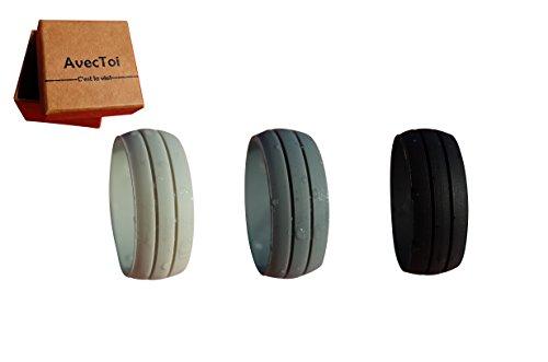AvecToi Unisex Silicone Wedding Ring product image