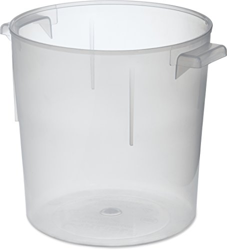 Carlisle 060530 Bains Marie Round Storage Container Only, 6