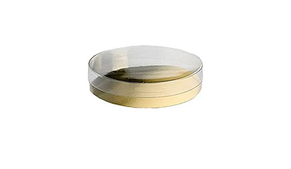 Redondo, acetato de cajas de regalo - Elección de tamaños disponibles - Ref aaab/1 100mm x 100mm x 27mm: Amazon.es: Oficina y papelería