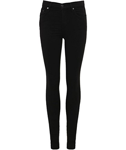 (Citizens of Humanity Women's High Rise Rocket Skinny Jeans 27 Black)