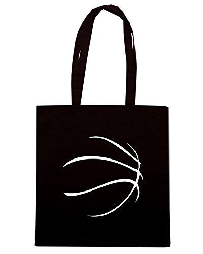 T-Shirtshock - Borsa Shopping OLDENG00404 basketball tshirt Nero
