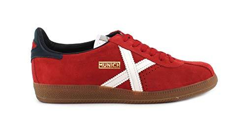 Adulto rojo 48 Unisex 48 Munich Zapatillas Rojo Barru ZqIPxR