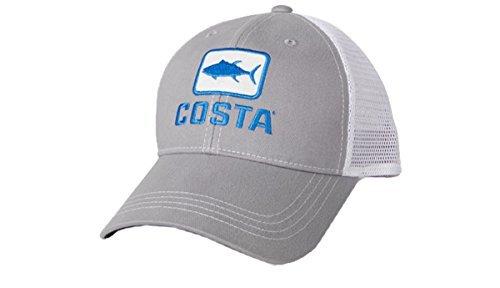 Costa Del Mar Tuna Trucker Hat, Gray