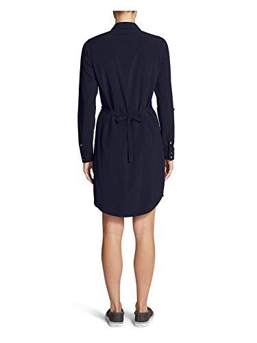 Eddie Bauer Women's Departure Long-Sleeve Shirt Dress, Dk Smoke HTR Regular S