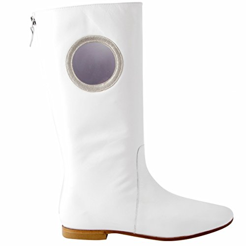 White Exclusif Paris Boots Women's Exclusif Exclusif Boots Paris Women's Women's Paris Boots White 67pgwx6q