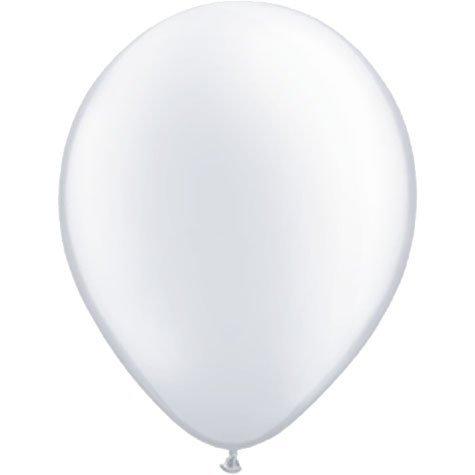 5 Inch (100 ct.)-Pearl White Qualatex Latex Balloons by Qualatex   B01M6CXXQH