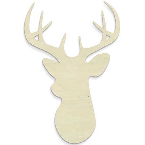(UNFINISHEDWOODCO 300029 Deer Head Wall)