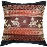 copter-shop-elephant-sun-throw-pillow-cover-decorative-sofa-couch-cushion-cover-zippered-16x16-inch-