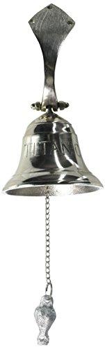 Aluminum Titanic Ship Bell, Small - Nautical Decor ()