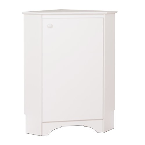 Prepac WSCC-0603-1 Elite Home Corner Storage Cabinet White ()