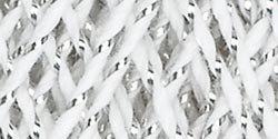Aunt Lydia's Bulk Buy Crochet Cotton Metallic Crochet Thread Size 10 (3-Pack) White/Silver 154M-0001S