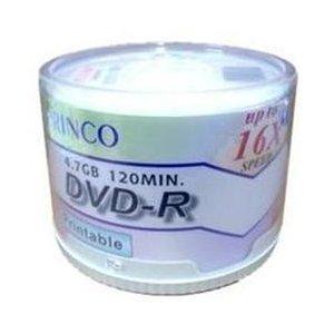 1,200 Princo 16X DVD-R 4.7GB White Inkjet