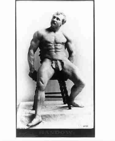 What phrase..., black naked bodybuilding